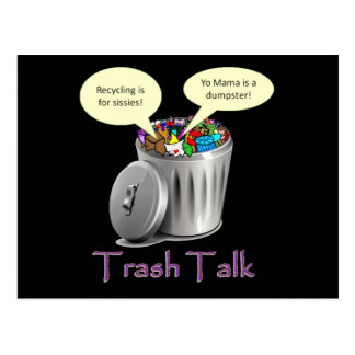 Trash Talk Postcard