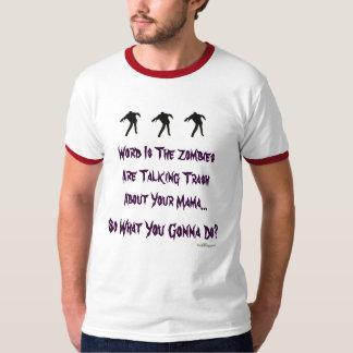 Trash Talking Zombies Ringer T-Shirt