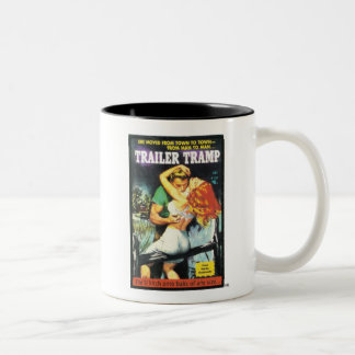 TRASH-Trailer-Tramp Two-Tone Coffee Mug