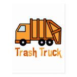 Trash Truck Postcards