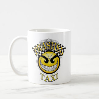 Trashed Taxi Coffee Mug