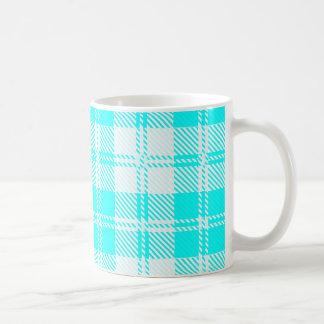 Tratan Style Pale Blue Backgrpund Coffee Mug