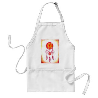 Traumfänger orange standard apron