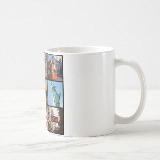 Travel abroad to NewYork Basic White Mug