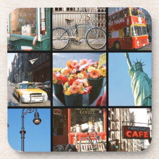 Travel abroad to NewYork Drink Coasters