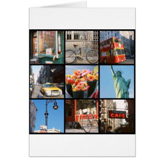 Travel abroad to NewYork Greeting Card