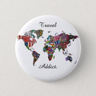 Travel Addict Badge