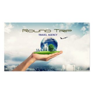 Travel Agency, Agent, Business Card
