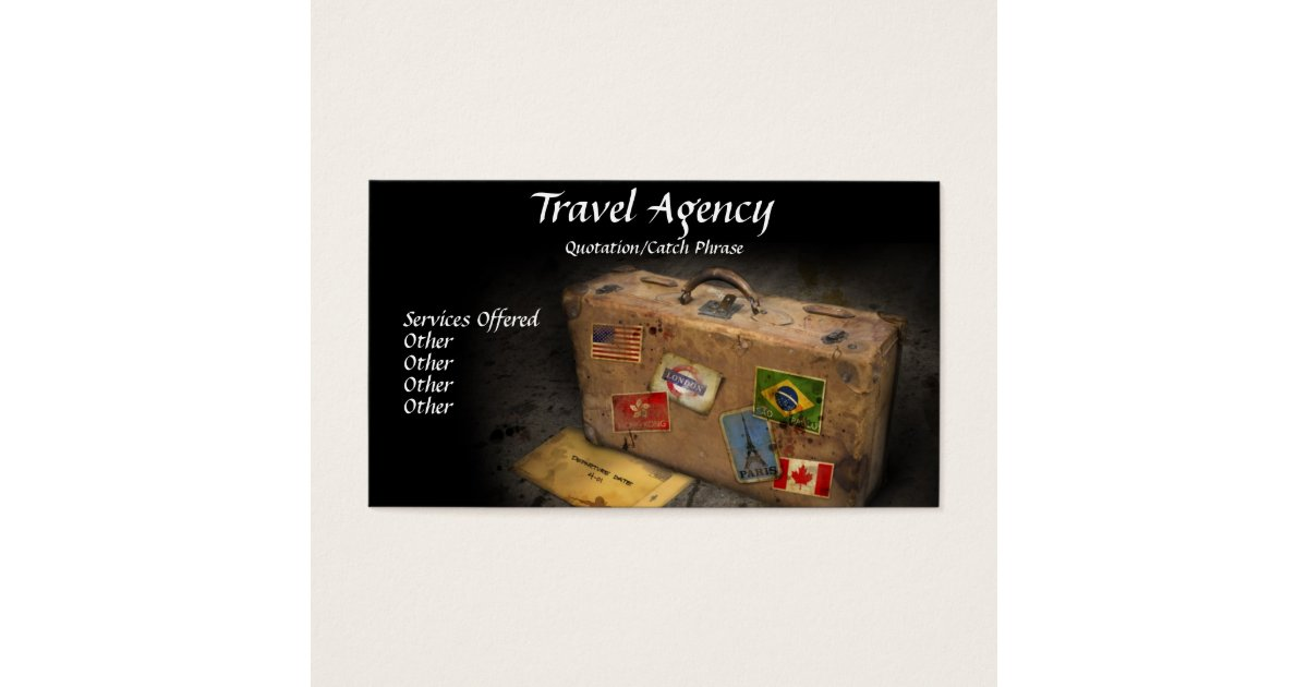 Travel Agency Business Supplies