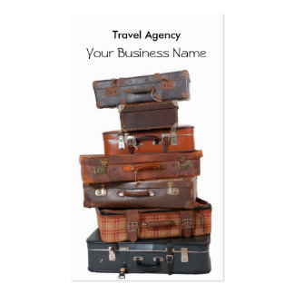 Travel Agency Luggage Fly Pack Of Standard Business Cards