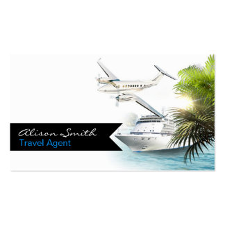 Travel Agent Business Card Template