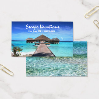Travel Agent - Business Card Template