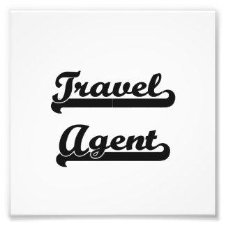 Travel Agent Classic Job Design Art Photo