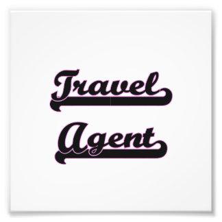 Travel Agent Classic Job Design Photo Print