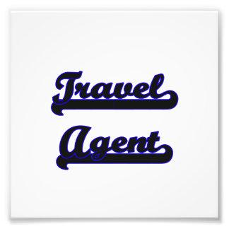 Travel Agent Classic Job Design Photographic Print