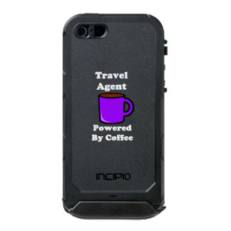 """Travel Agent"" Powered by Coffee Incipio ATLAS ID™ iPhone 5 Case"