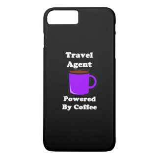 """Travel Agent"" Powered by Coffee iPhone 7 Plus Case"
