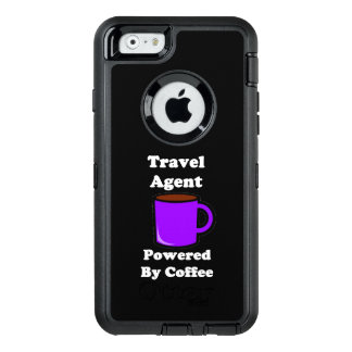 """""""Travel Agent"""" Powered by Coffee OtterBox iPhone 6/6s Case"""