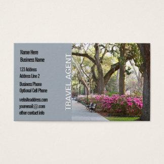Travel Agent | Savannah Georgia GA Park Business Card