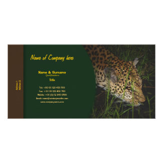 Travel agents game lodges hunting farms safari personalized photo card