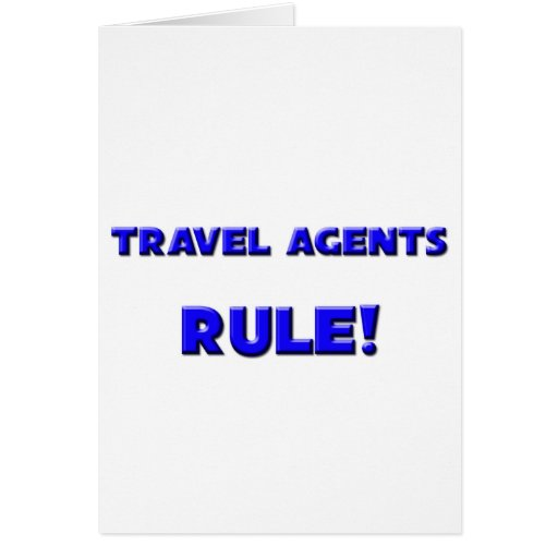 Travel Agents Rule! Cards
