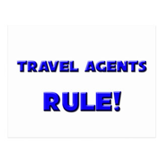 Travel Agents Rule! Postcard