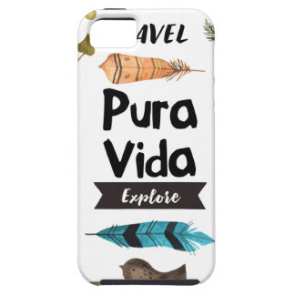Travel and explore watercolour iPhone 5 case