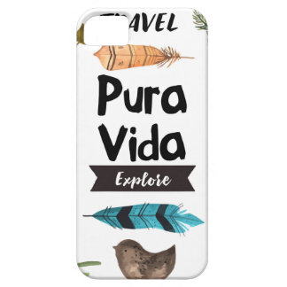Travel and explore watercolour iPhone 5 cases