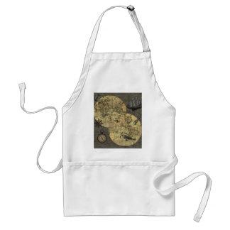 Travel around the world standard apron