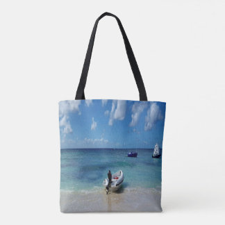 Travel Beachscape Water Sky Landscape Tote Bag