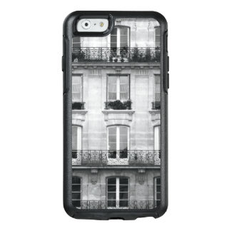 Travel | Black and White Vintage Building In Paris OtterBox iPhone 6/6s Case
