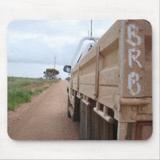 Travel BRB gravel track landscape sky ute Mouse Pad