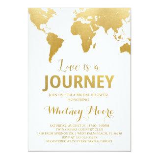 Travel Bridal Shower Invitation