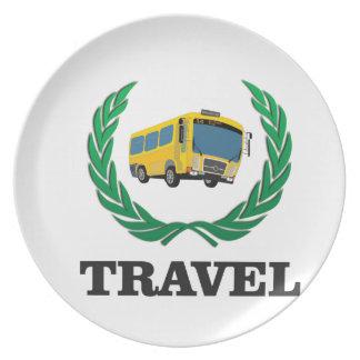 travel bus plates