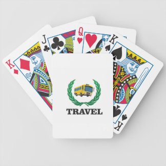 travel bus poker deck
