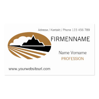 travel pack of standard business cards