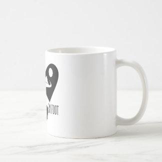 travel by foot coffee mug