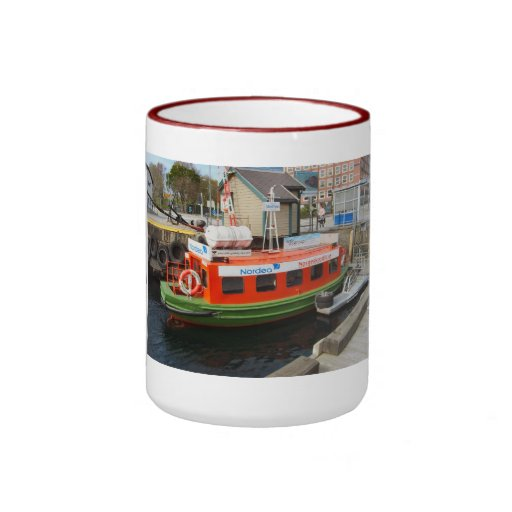Travel by water taxi Bergen, Norway Mug