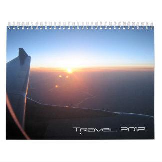 Travel Calendar 2012