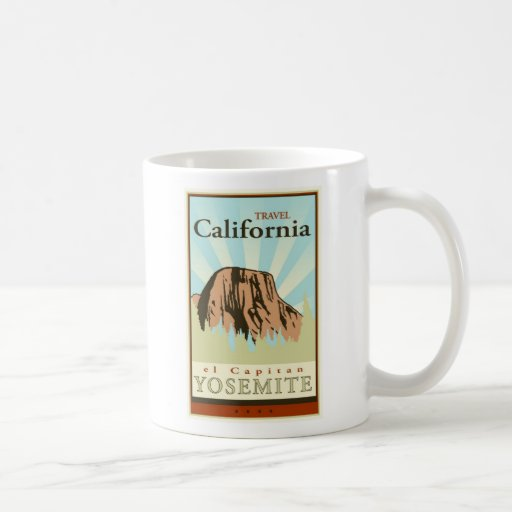 Travel California Mug