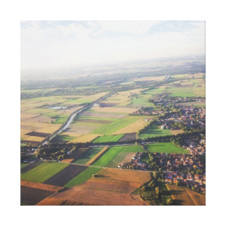 travel collection. Germany from air Canvas Print
