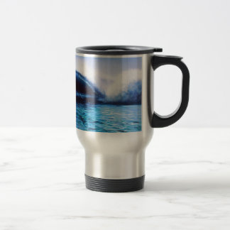 Travel / Commuter Mug: Surf Art Travel Mug