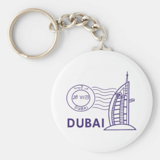 TRAVEL DUBAI KEY RING