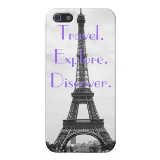 Travel, Explore, Discover. iPhone 5 Cases