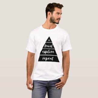Travel explore repeat t-shirt