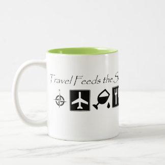 Travel Feeds the Soul - Coffee Mug