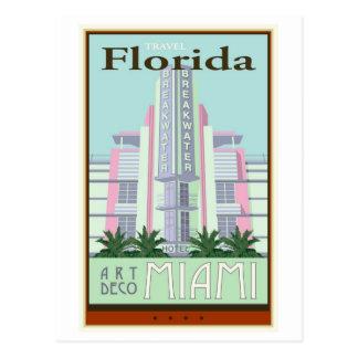 Travel Florida Postcard