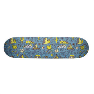 Travel Fun 21.3 Cm Mini Skateboard Deck