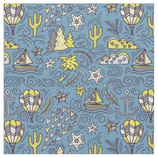 Travel Fun Fabric