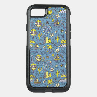 Travel Fun OtterBox Commuter iPhone 8/7 Case